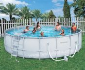 Bestway 18ft x 52in Steel Pro Frame Garden Pool